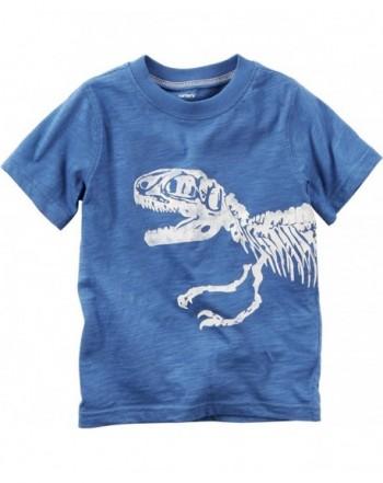 Carters Cotton Print Dinosaur Graphic