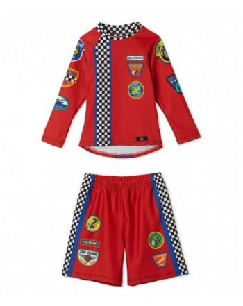 Little Boys Racecar Trunks Swimsuit