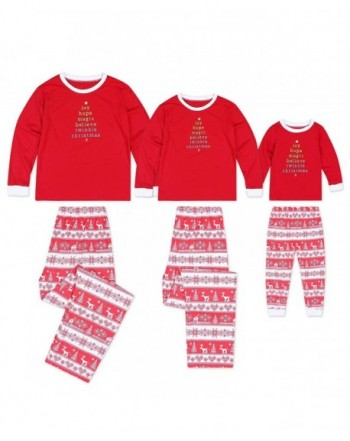 Seogva Christmas Pajamas Matching Sleepwear