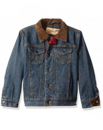 Wrangler Boys Lined Denim Jacket