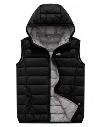 Wantdo Packable Hooded Sleeveless Lightweight