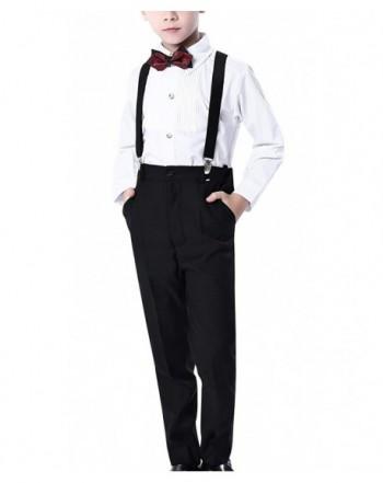 Aivtalk Suspender Bowtie Formal Dresswear