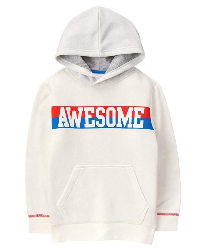 Crazy Boys Hooded Graphic Pullover