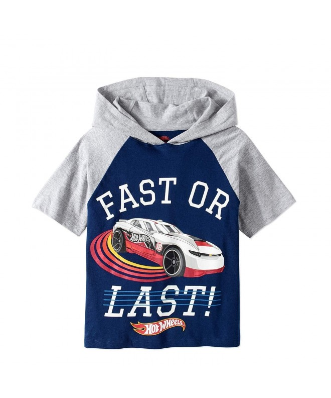 Hot Wheels Hooded Raglan Graphic