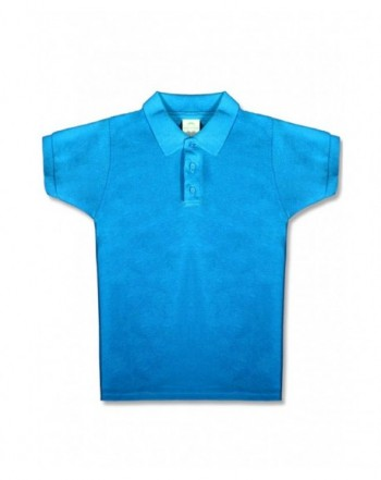 Upparel Boys Short Sleeve Pique