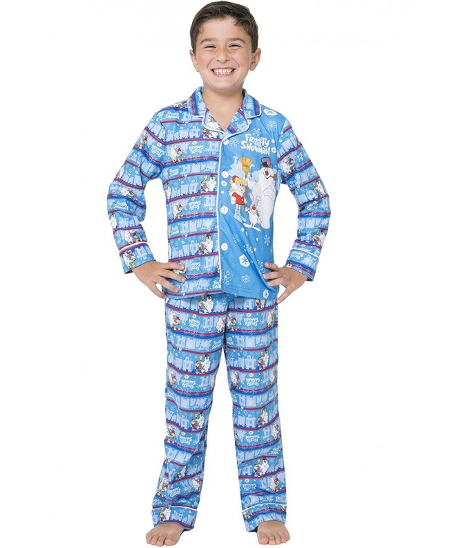 Frosty Snowman Little Christmas Pajama