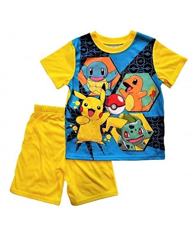 Pokemon Pajama Sleep Small Yellow
