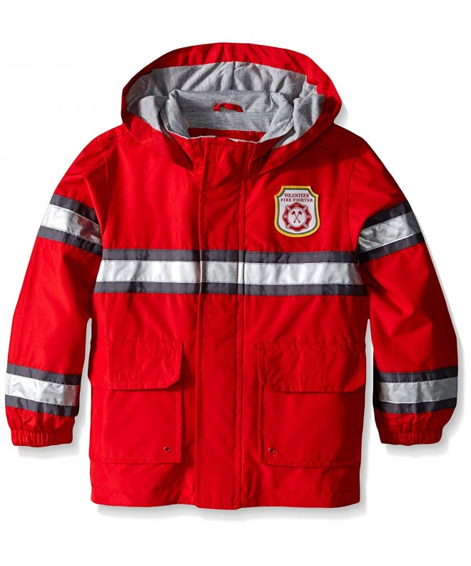 Carters Little Fireman Raincoat Slicker