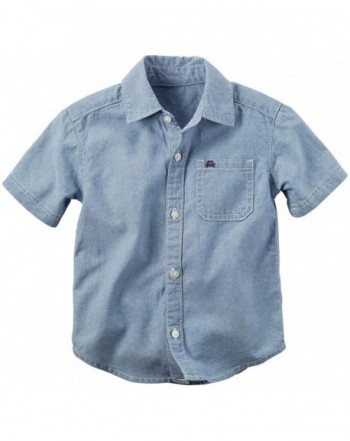 Carters Boys Woven Buttonfront 243g414