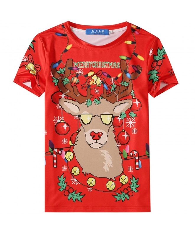 SSLR Shirts Santa Christmas Sweater