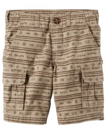 Carters Printed Cargo Shorts Months