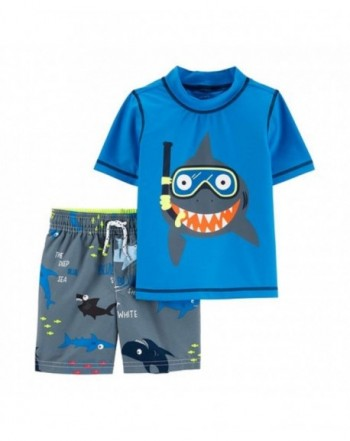 Carters Guard Shorts Snorkeling Shark