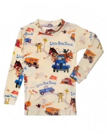 Childrens Little Truck Pajama Bottom