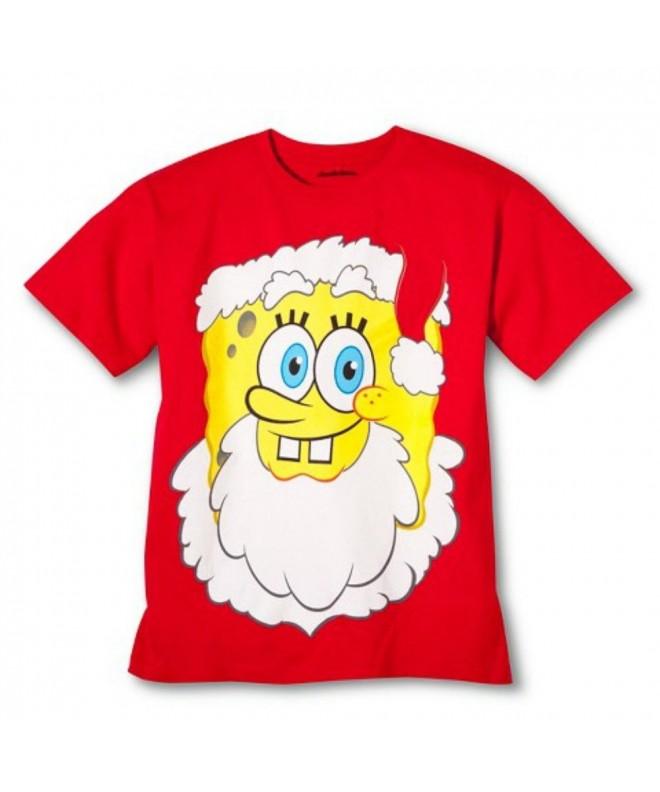 SpongeBob SquarePants Christmas Graphic T Shirt