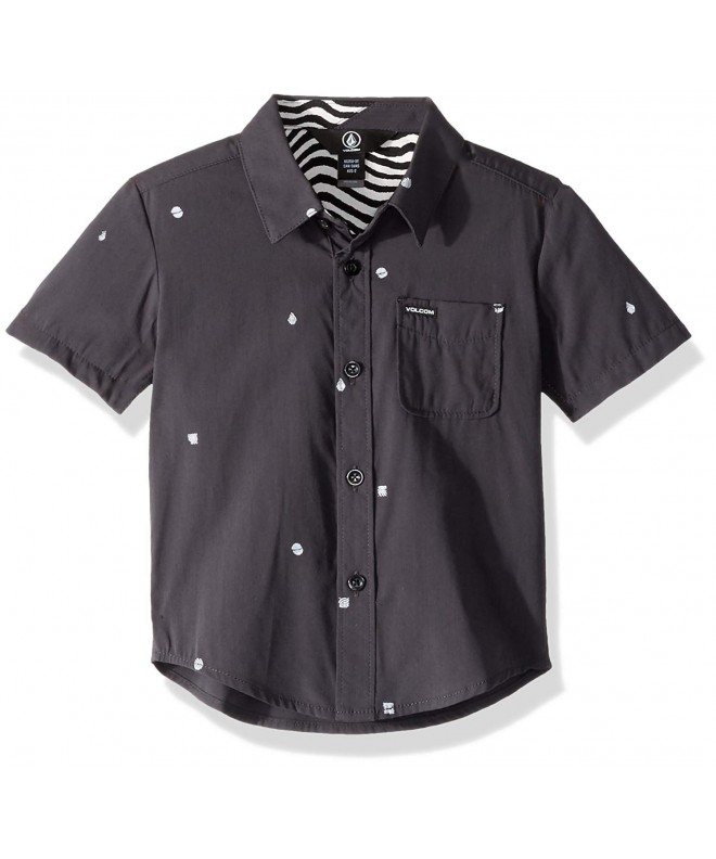 Volcom Little Dragstone Button Sleeve