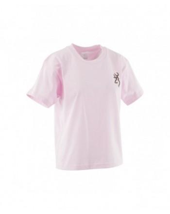 Browning Youth Buckmark T Shirt Medium