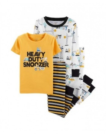 Carters 3 Piece Construction Vehicles Cotton