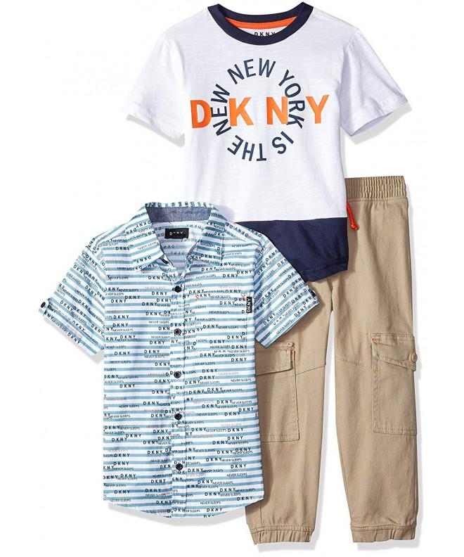DKNY Sport T Shirt Twill Pull