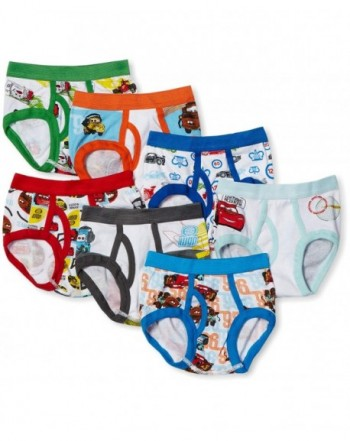 Cars Underwear Toddler 7 Pack 2T 4T