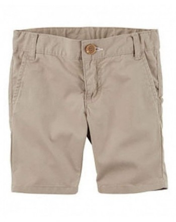 Carters Little Uniform Flat Front Shorts