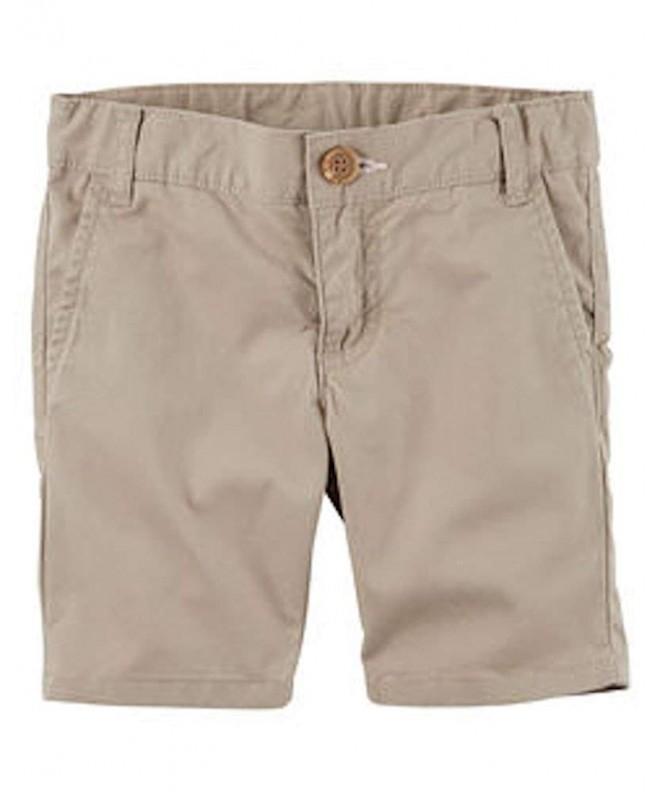 Carters Little Uniform Flat Front Shorts
