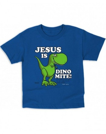 Kerusso Dino mite Kids T Shirts Christian