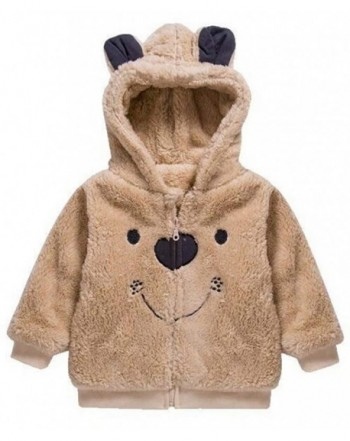 EGELEXY Toddler Winter Fleece Outerwear