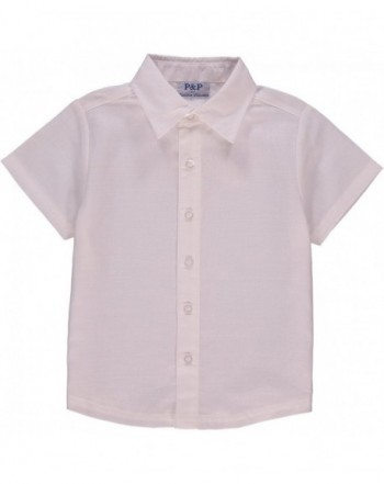Baby Spring Short Sleeve Button