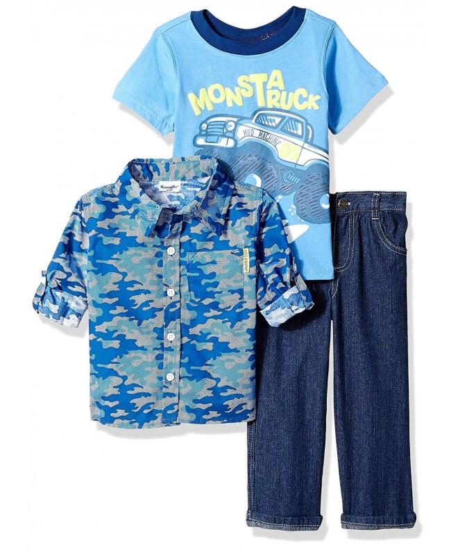 Nannette Boys Piece Woven Shirt