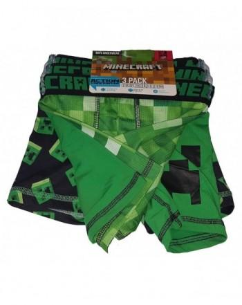 Bioworld Corp Minecraft Action Underwear