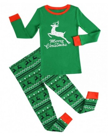 GYS Christmas Pajamas Sleepwear Reindeer