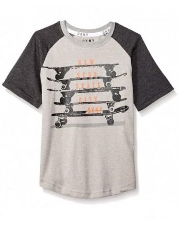 DKNY Skate Boards Sleeve T Shirt