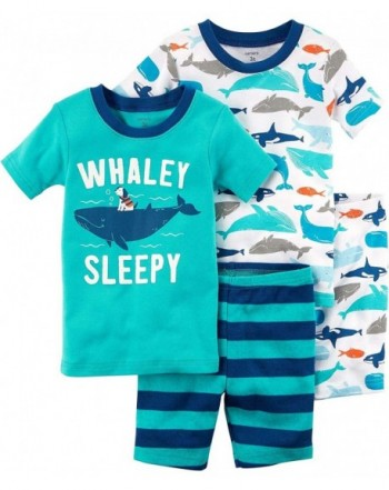 Carters Toddler Whaley Sleepy Pajama