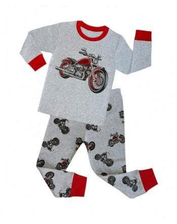 TinaLuLing Pajamas Sleeve Motorcycle Pyjamas