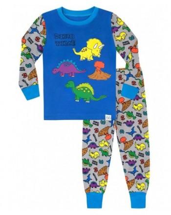 Harry Bear Boys Pajamas Dino