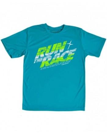 Kerusso Run Race Kids Active T Shirt Small