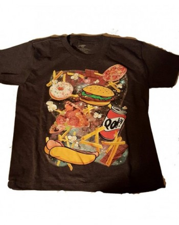 Junk Food Space Graphic T shirt