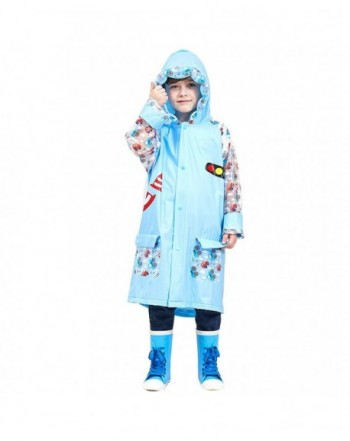 Laus Hooded Waterproof Childrens Rainwear