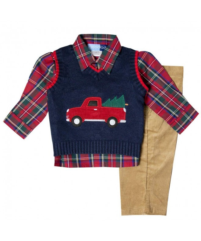 Good Lad Sweater Christmas Applique