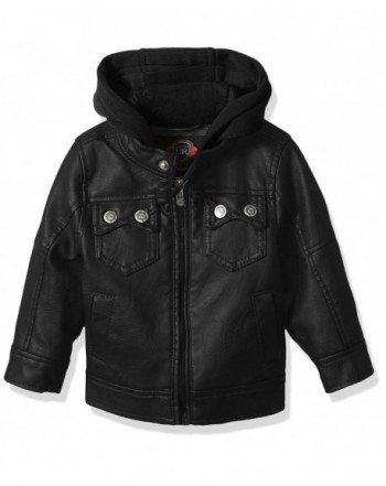 Urban Republic Leather Jacket Pocket