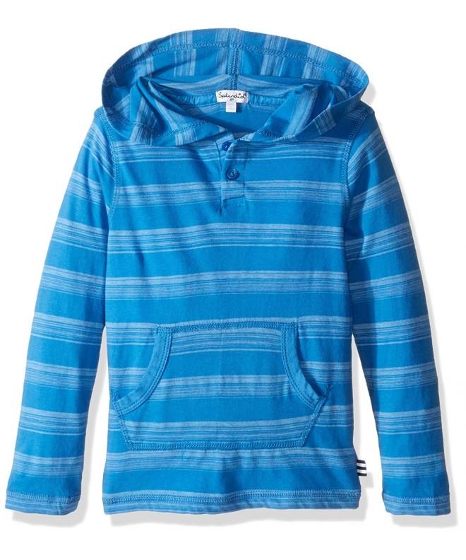 Splendid Sleeve Classic Stripe Hooded