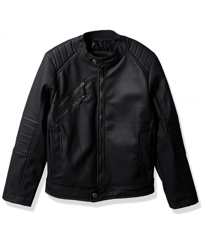 Urban Republic Texture Leather Jacket