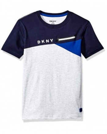 DKNY Short Sleeve Heather T Shirt