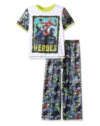 Justice League Boys Mesh Sleepwear