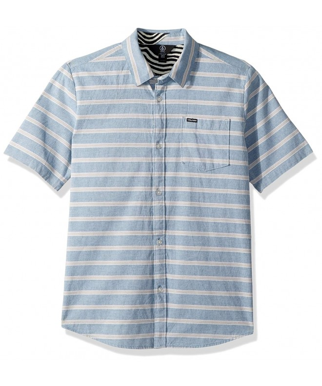 Volcom Branson Woven Striped Sleeve
