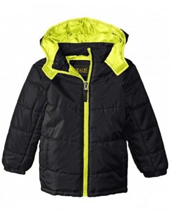 iXtreme Boys Colored Zipper Puffer Coat
