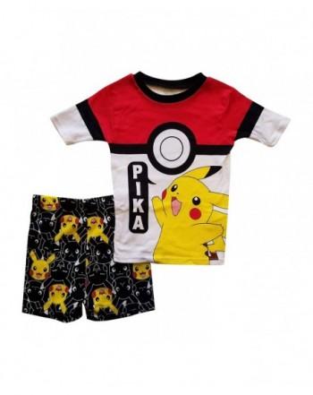 Pikachu Pajama Sleep Wear Boys