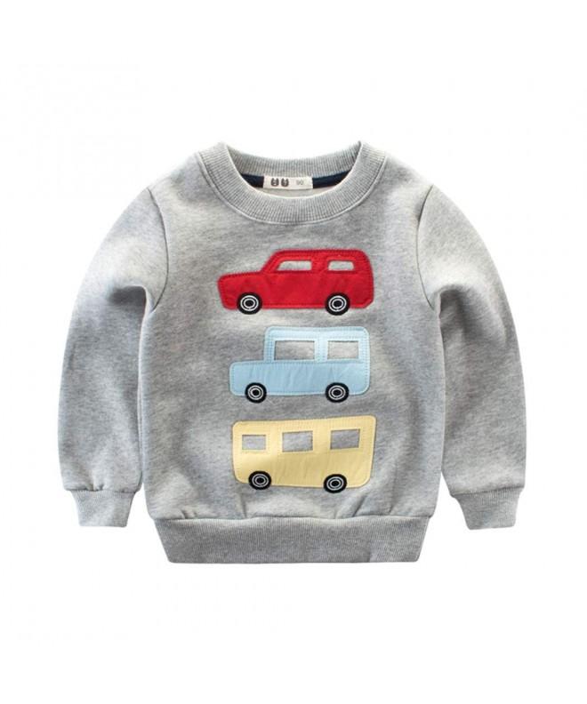 DDSOL Toddler Dinosaur Cartoon Sweatshirts