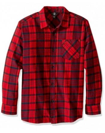 Volcom Boys Gaines Sleeve Shirt