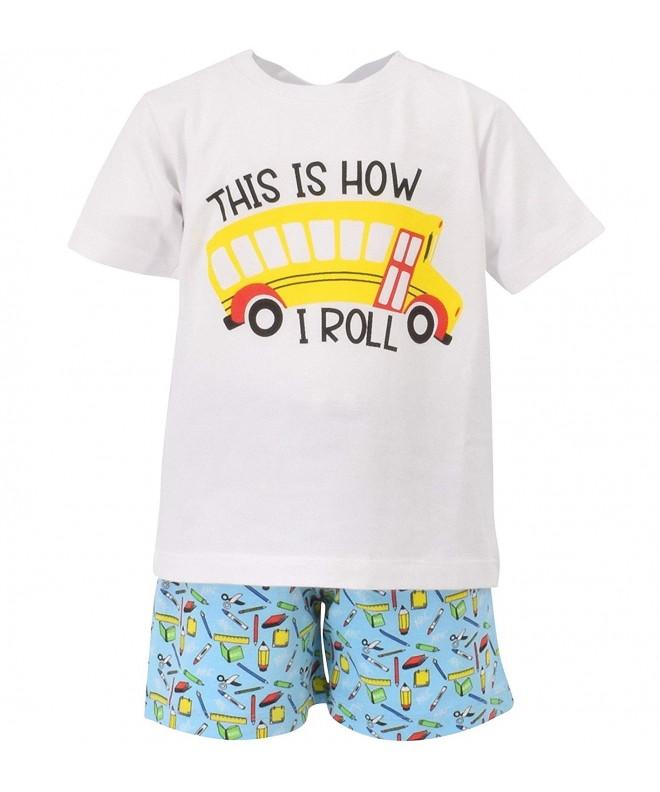 Unique Baby Boys School Outfit